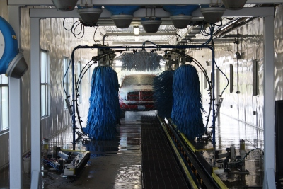 Interior view of Zippy Auto Wash